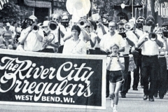 Independence Day parade, West Bend (first parade)
