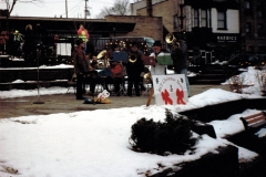 Christmas caroling - Downtown, West Bend