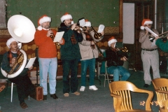 Christmas caroling - Old Courthouse, West Bend