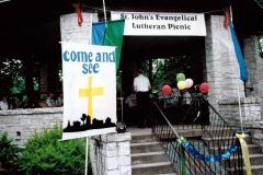 St. John's Evangelical Lutheran picnic - Regner Park, West Bend