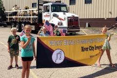 Fireman's parade - Allenton