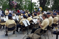 Memorial Day service - West Bend