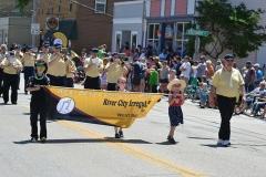Fireman's parade - Newburg